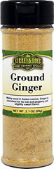 Ground Ginger <p>Ginger is known for its knobby root and a hot, peppery, and slightly sweet flavor. Ground ginger is used in gingerbread, cookies, pies, as well as in Indian curries, and Asian foods. It is also used on meats and fish.</p> 2.1 oz Bottle  $6.99