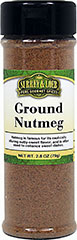 Ground Nutmeg  2.8 oz Bottle  $4.49