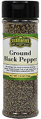"Ground Black Pepper <strong></strong><p><strong>From the Manufacturer:</strong></p><p>Surrey & Loeb Ground Black Pepper gives you a medley of flavors to create your culinary masterpieces.  Whether you add a pinch, dash or simply a smidgen, your recipe desires nothing less than the best.<span class=""bold-aboutinfo""> Use it on e</span>ggs, potatoes, vegetables, meats, tuna and anything else you can think of.</p> 2.6 oz P"