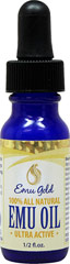 Emu Oil 100% Pure Refined <p><b>From the Manufacturer's Label:</b></p>  <p>Emu Oil 100% Pure Refined is manufactured by Emu Essentials.</p> 0.5 oz Oil  $8.99
