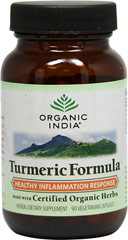 Organic Turmeric Formula <p><b>From the Manufacturer's Label:</b></p>  <p>Turmeric is gaining the reputation to be the single most important herb for many health and dietary needs. Our Turmeric Formula nourishes & cleanses the blood and lymph system, and helps support a healthy immune response.** Turmeric Formula also supports cellular health in the liver, skin, lungs, sinuses, joints, and digestive system.**</p> <p>Manufactured by Organic India™