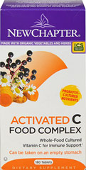 Activated Vitamin C Food Complex  180 Tablets  $38.99