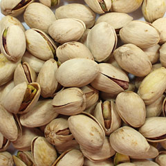 Dry Roasted Unsalted Pistachios  16 oz Bag  $16.14