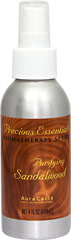 Purifying Sandalwood Spritz <p>Purifying Sandalwood Spritz will help transform your home into a private spa--or a romantic hideaway. Contains 100% pure Australian sandalwood and purified water.</p> 4 oz Spray  $4.44