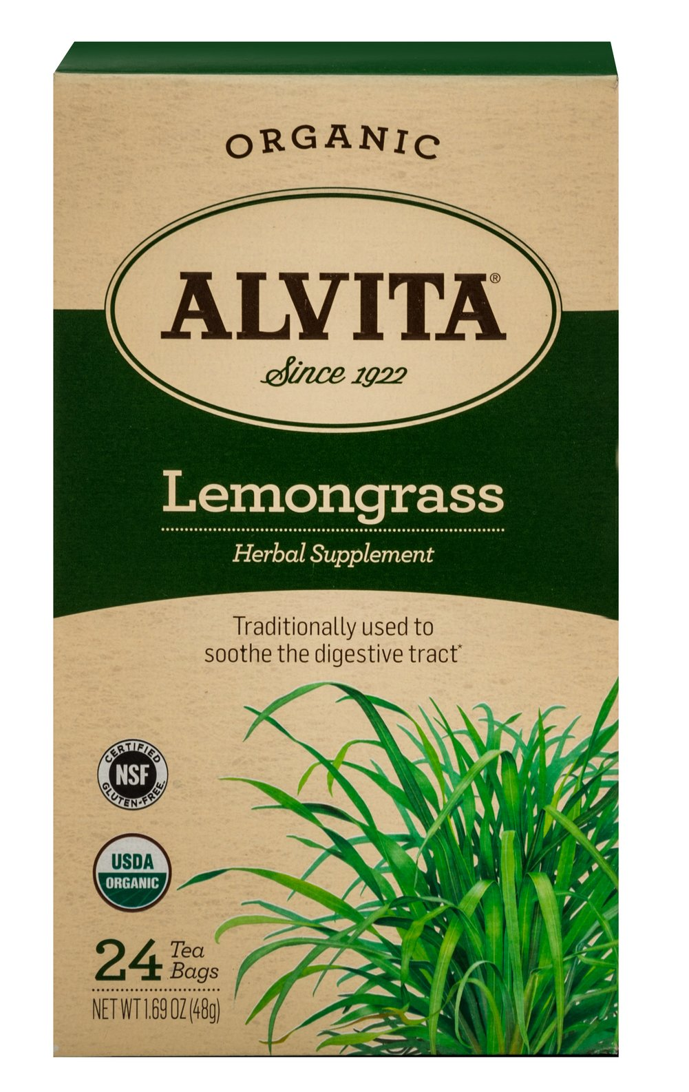 Organic Lemongrass Tea <p><strong>From the Manufacturer's Label:</strong></p><p>Lemongrass has a vibrant, citrus aroma and taste that make the herb a favorite among tea aficionados as both a hot and iced tea. Enjoyed alone or as an accompaniment to a spicy meal.</p> 24 Tea Bags  $8.99