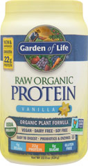 Raw Protein Vanilla  22 oz Powder  $31.99