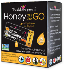 Manuka Honey on the Go  24 Packets  $21.99