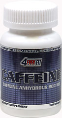 Caffeine 200 mg <p>We are proud to bring you Caffeine 200mg from 4Ever® Fit.  Look to Puritan's Pride for high-quality national brands and great nutrition at the best possible prices.</p> 100 Tablets 200 mg