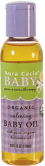 Calming Baby Oil Enhance the touch your baby loves so much.   Use this pure-as-can-be oil to provide natural nourishment to the most tender skin.  Luxurious, non-greasy jojoba and sunflower oils gently deliver the relaxing benefits of lavender, chamomile and marjoram.<br />100% Pure Essential Oils.  Not tested on Animals.  No Synthetic Preservatives, Colors or Fragrances.  Paraben-Free  4 oz Liquid  $5.99