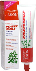 Powersmile® All Natural Whitening Toothpaste  6 oz Paste  $4.99