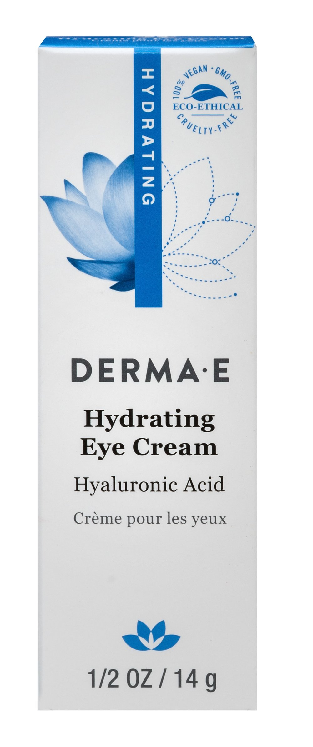 Derma E® Hyaluronic & Pycnogenol® Eye Crème <p><b>From the Manufacturer's Label: </p></b><p>Pycnogenol® is a super antioxidant 50 times more powerful than Vitamin E.</p>  <p>Hyaluronic Acid is a naturally occurring substance that firms, tones, and rehydrates skin.</p>  <p>This fragrance free and delicate eye cream dramatically reduces the appearance of fine lines and wrinkles around the eye area.</p>  <p&g