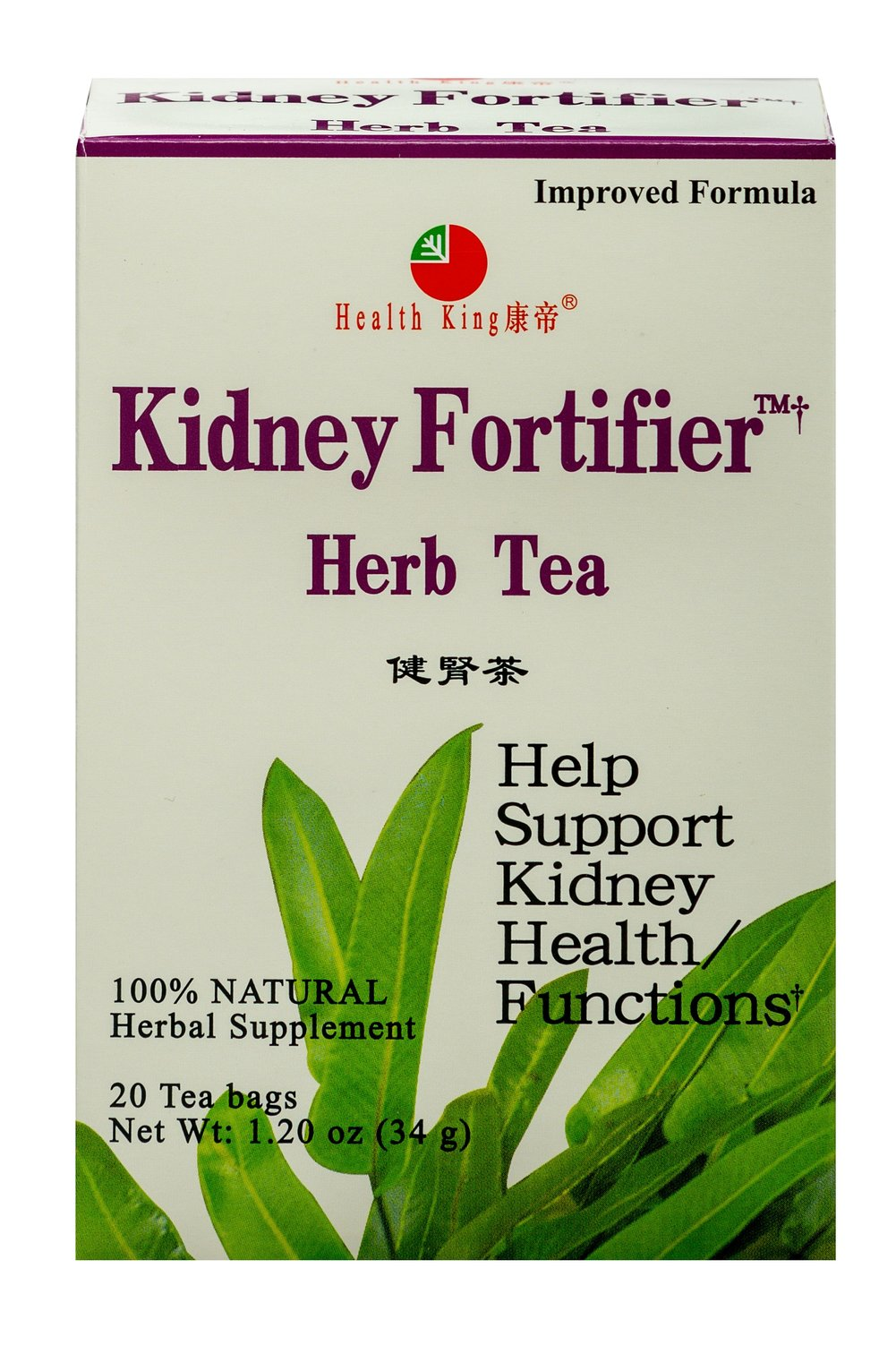 Kidney Fortifier Herb Tea <p><strong>From the Manufacturer's Label: </strong></p><p>Kidney Fortifier™ Herb Tea is made of wild pyrrosia and other precious herbs. Nicely flavored, a delicious tea to enjoy any time of day.<br /></p> 20 Tea Bags  $12.99