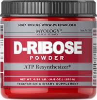 D-Ribose Powder <p>Ribose is an energizing nutrient for the heart, and supports healthy heart function.**</p><p>Although Ribose is naturally made by your body's cells, not every cell is able to make it quickly which is why D-Ribose powder is a great way to maintain sufficient levels.</p><p>Our vegetarian powder formula mixes easily with water and other beverages.</p> 250 g Powder 5000 mg $44.99