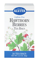 Hawthorn Berries Tea <p><strong>From the Manufacturer's Label: </strong></p><p>Caffeine Free Herbal Tea<br /></p><p>Hawthorn is a small thorny tree or shrub that produces brilliant red clusters of berries. <br /></p><p>This herbal tea is delicious and known for it's benefits and properties.<br /></p> 24 Tea Bags  $10.99