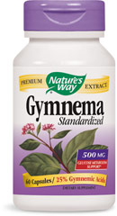 Gymnema Standardized Extract 500 mg  60 Capsules 500 mg $11.99