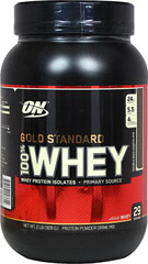 Gold Standard Whey Chocolate <p><strong>From the Manufacturer's Label:</strong></p><p>The True Strength of Whey..</p><p>Whey Protein Isolates (WPI's) are the purest form of when protein. That's why they're the first ingredient you read on the Gold Standard 100% Whey label. This superior quality powder has been instantized to mix easily using a spoon. <strong></strong></p> 2 lbs Powder  $32.99