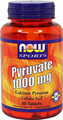 Calcium Pyruvate 1000 mg  90 Tablets 1000 mg $11.99