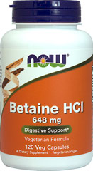 Hcl betaine benefits