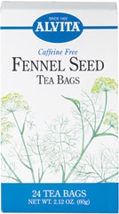 Fennel Seed Tea <p><strong>From the Manufacturer's Label: </strong></p><p>Fennel is often used with other herbs for its benefits. Enjoy a delicious cup of caffeine free fennel tea any time, anywhere!</p> 24 Tea Bags  $9.99