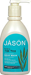 Tea Tree Purifying Natural Body Wash <p><strong>From the Manufacturer's Label:</strong></p><p>Tea Tree Purifying Natural Body Wash is manufactured by Jason® Natural Products.</p> 30 oz Body Wash  $11.99