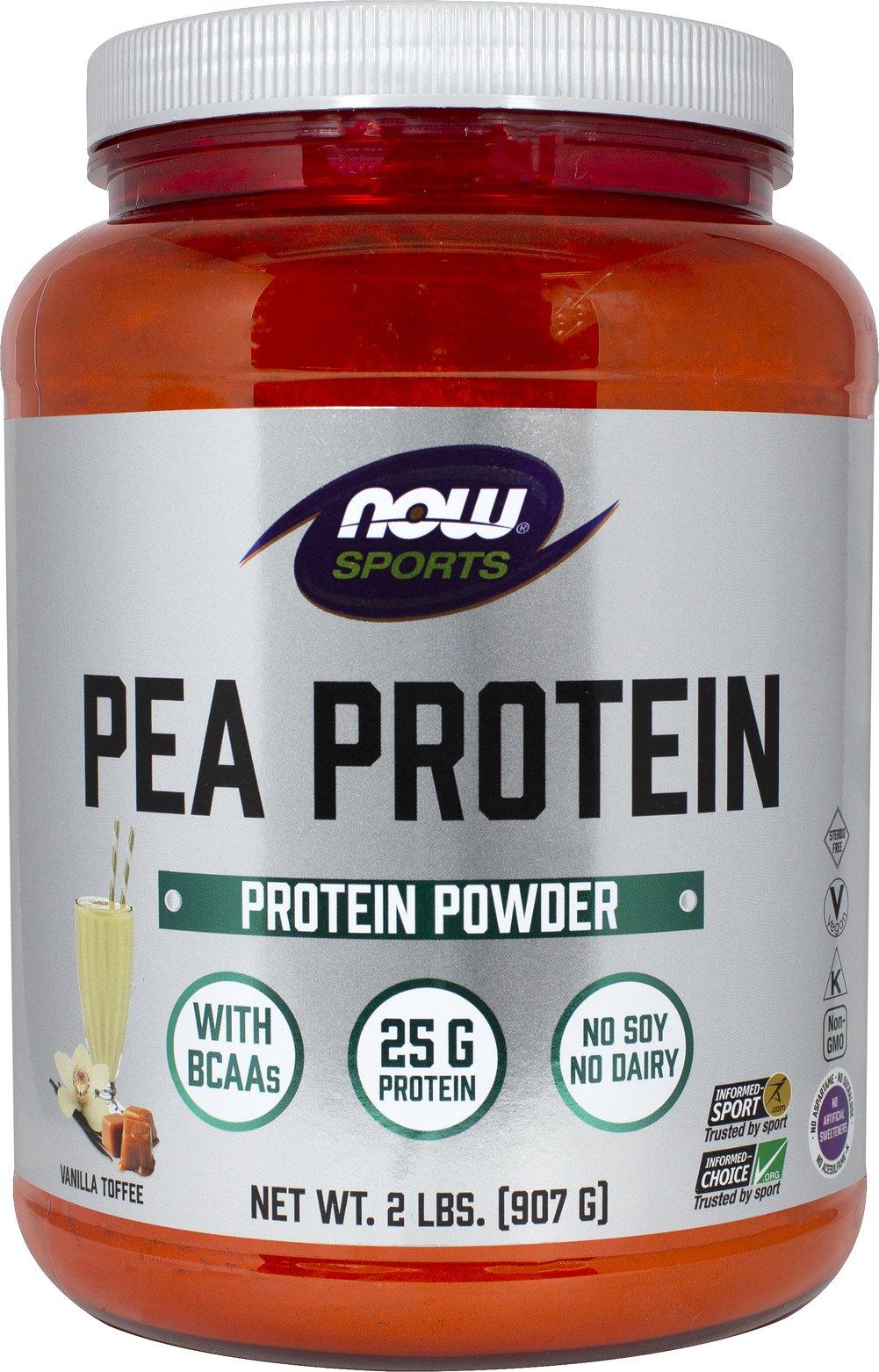 Vanilla pea protein
