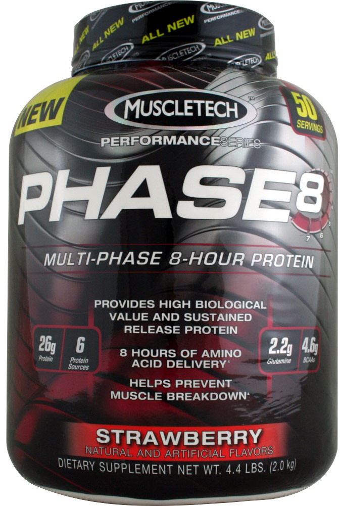 "אבקת חלבון מאסלטק 2 ק""ג MuscleTech Phase 8"