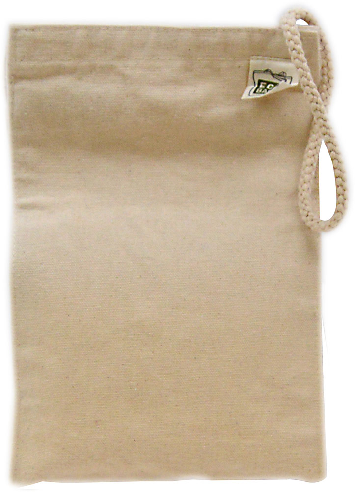 Ecobags Recycled Cotton Canvas Lunch Sack 013623