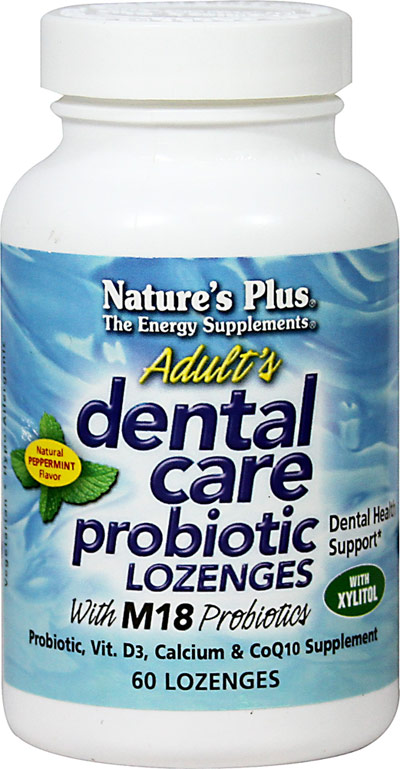 Oral probiotics BLIS M18 dental supplements