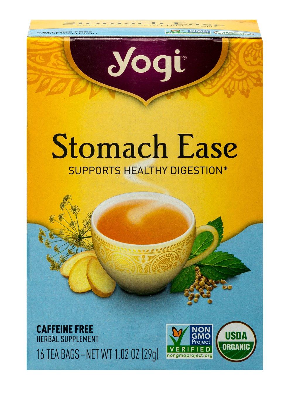 Yogi Tea Organic Stomach Ease Tea-16 Tea Bags 036334