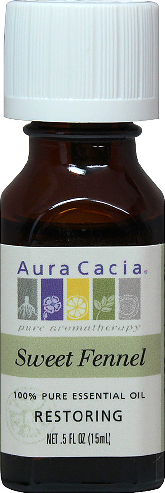 Aura Cacia Sweet Fennel Essential Oil-15 ml Oil Fennel Seed, Fennel Plants, Fennel Seeds, Florence Fennel, Garden Seeds, Herb Seeds, Vegetable Seeds