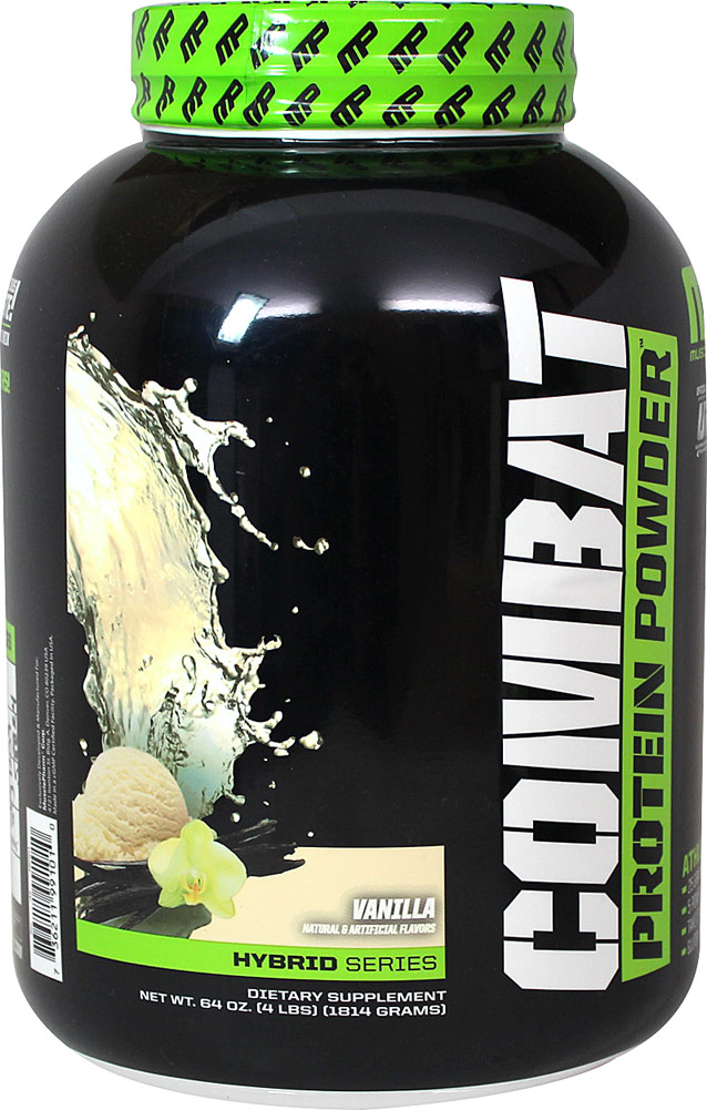 "אבקת חלבון מאסל פארם קומבט 1.8 ק""ג  MusclePharm Combat Powder"