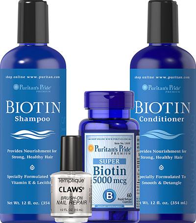 Kit Biotin Hair & Nails Kit-4 Pack 069886
