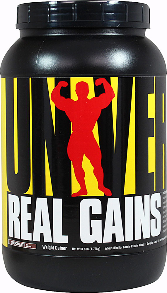 "גיינר יוניברסל נוטרישן ריל גיינס 3.1  ק""ג Universal Nutrition Real Gains"