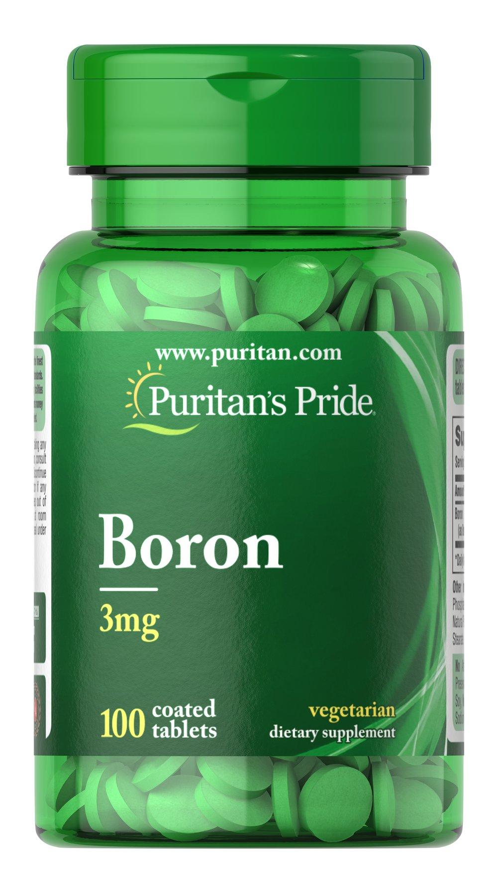 Boron 3 Mg 100 Tablets