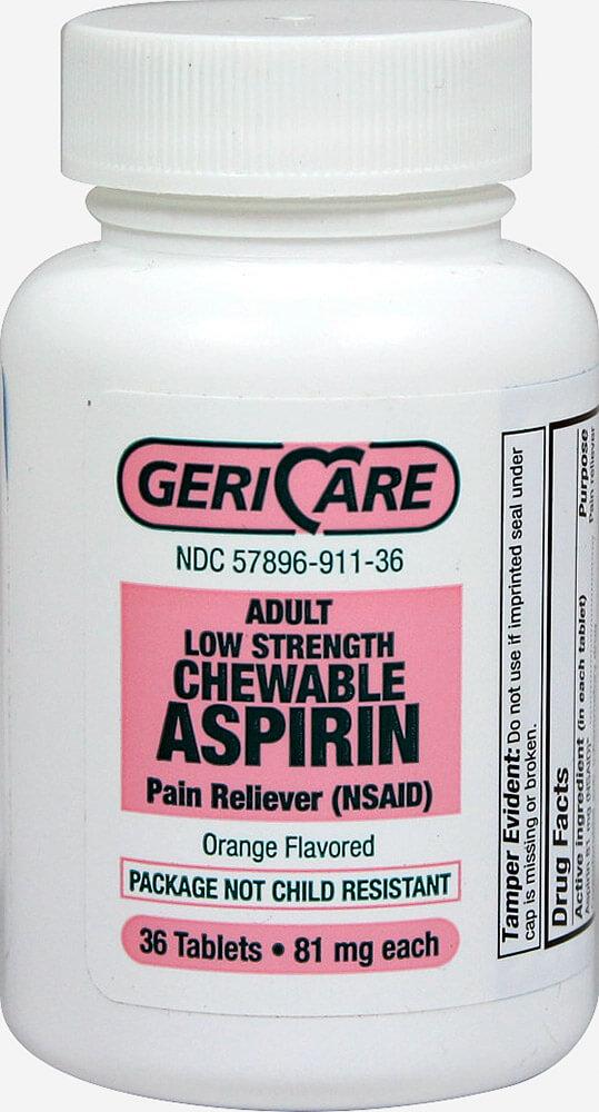 Baby Aspirin Mg