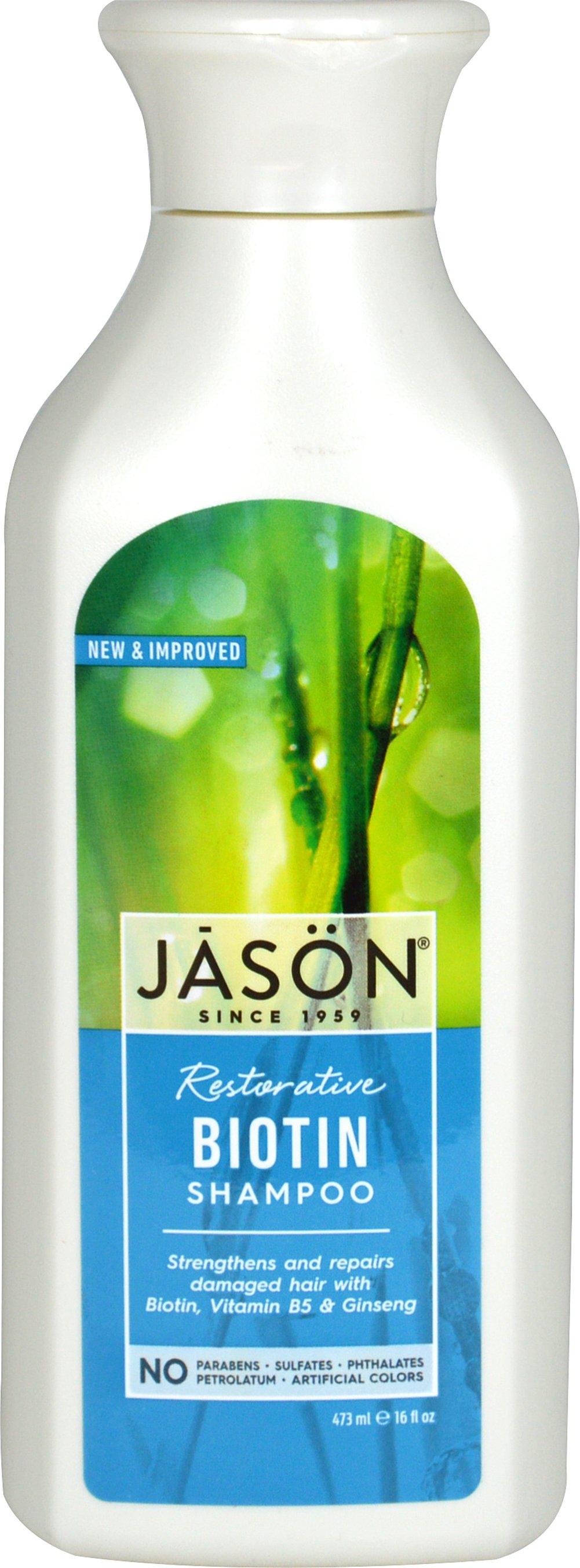 Jason Natural Biotin Hair Restorative Shampoo